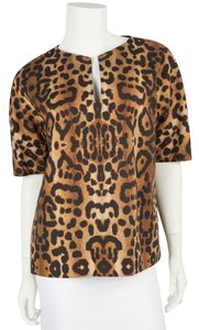 Giambattista Valli Top Leopard
