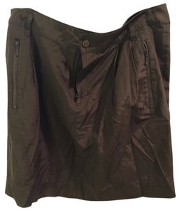 Banana Republic Mini Skirt Olive Green