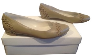 Cole Haan Decorative Lacing Taupe Flats