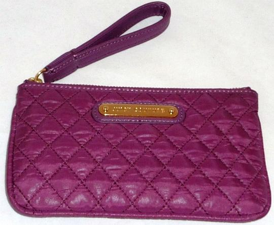 Juicy Couture Quilted purple Clutch