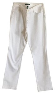 Lauren Ralph Lauren Boot Cut Pants White