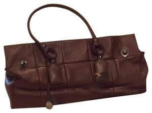 Tod's Satchel in Light Chocolate Brown