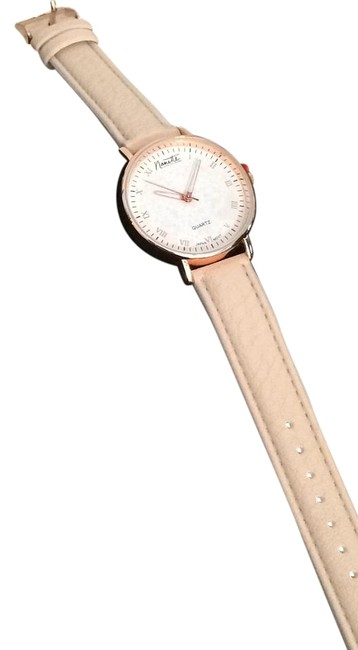 Item - Rose Gold Watch with Blush-colored Band