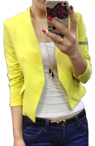 Other Black/ Yellow/Blue/Rose Womens Jean Jacket