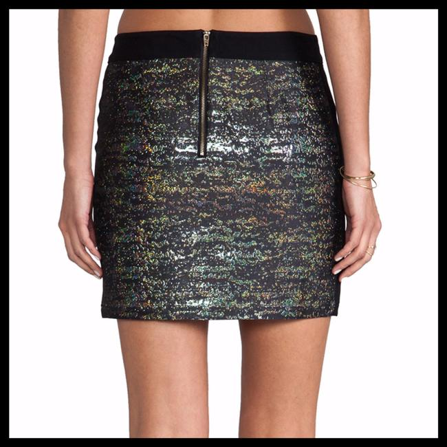 Derek Lam New 6 Mini Skirt Black Gold Blue Pink Green Purple