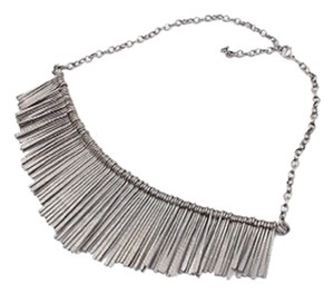 Unknown Gun metal Black statement Necklace
