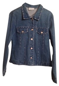 Typhoons By Kellissa Ltd. Blue Jean Womens Jean Jacket