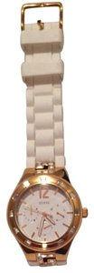 Guess White And Gold Guess watch