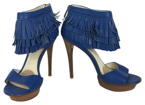 Velvet Angels Blue Pumps