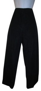Jil Sander Medium 38 Trouser Pants Black