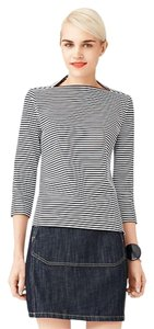 Kate Spade Striped T Shirt Black & White