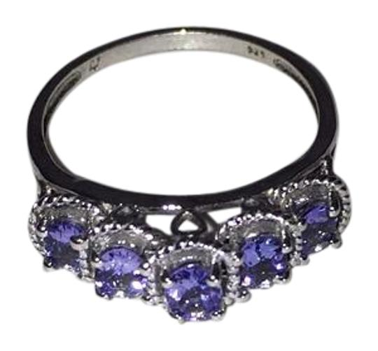 Other Sterling Silver and Tanzanite Ring Image 0