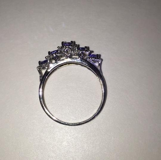 Other Sterling Silver and Tanzanite Ring Image 1