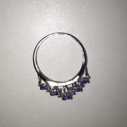 Other Sterling Silver and Tanzanite Ring Image 2