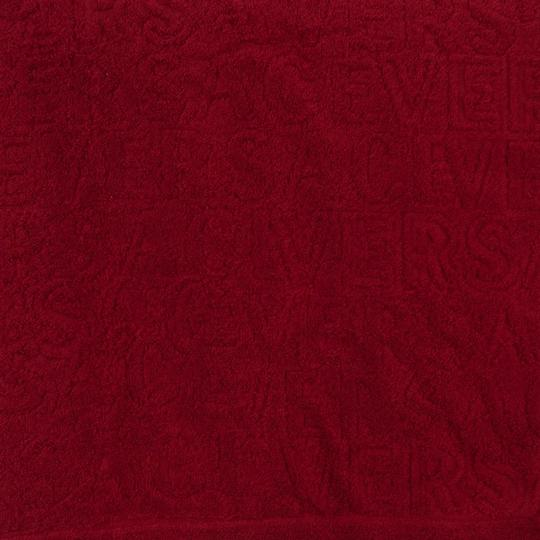 Versace Versace Rosso 100% Cotton Super Soft Signature Red Towel