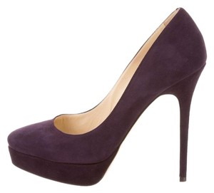 Jimmy Choo Cosmic Purple Pumps