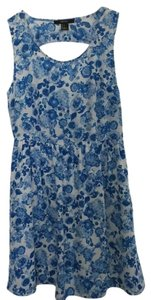 Forever 21 short dress Blue flowers on Tradesy