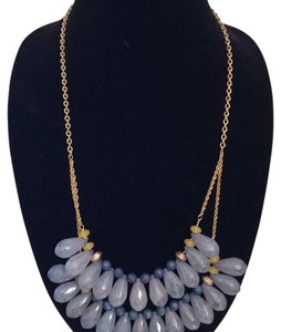 Anthropologie Anthropologie Statement Bib Necklace with faceted beads