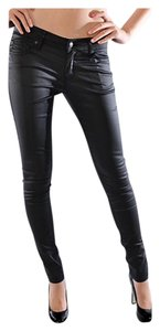 Other Coated Faux Skinny 5 Pocket Junior Skinny Jeans
