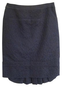 Carolina Herrera Skirt Navy Blue