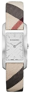 Burberry Burberry Heritage Nova Check Leather Strap Womens Watch