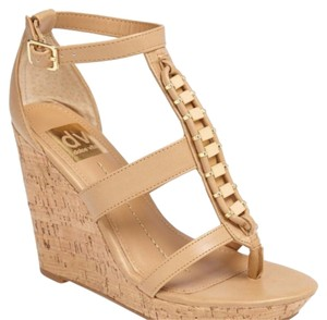 DV by Dolce Vita Nude Stella Wedges