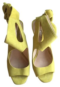 Zara Yellow Sandals