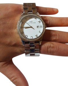 Marc by Marc Jacobs Marc by Marc Jacobs Sliver Diamond Dial Stainless Steel Ladies Watch