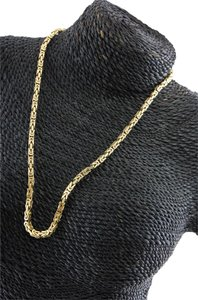 14 carat Yellow Gold Necklace 14K Gold Chain Necklace