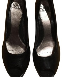 Erosoft by Sfft Black leather Pumps