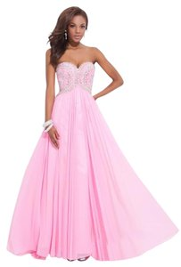Tony Bowls New Prom Tbe11449 Size 12m Empire Waist Strapless Dress