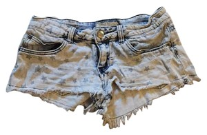 Vintage Havana Jean Stars Faded Mini/Short Shorts