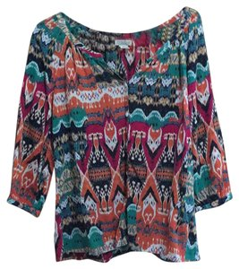 Lucky Brand Top Multi colored