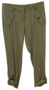 Ann Taylor Retail Like New Versatile Straight Pants Dark Olive