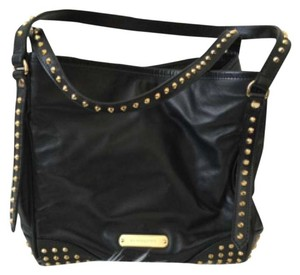BURBERRY Lambskin Bridle Studs Small Canterbury Tote Tote