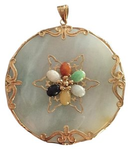 Other 14k Jadeite Pendant