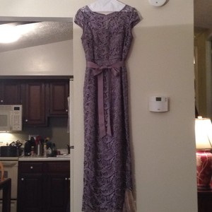 Adrianna Papell Lavendar Dress