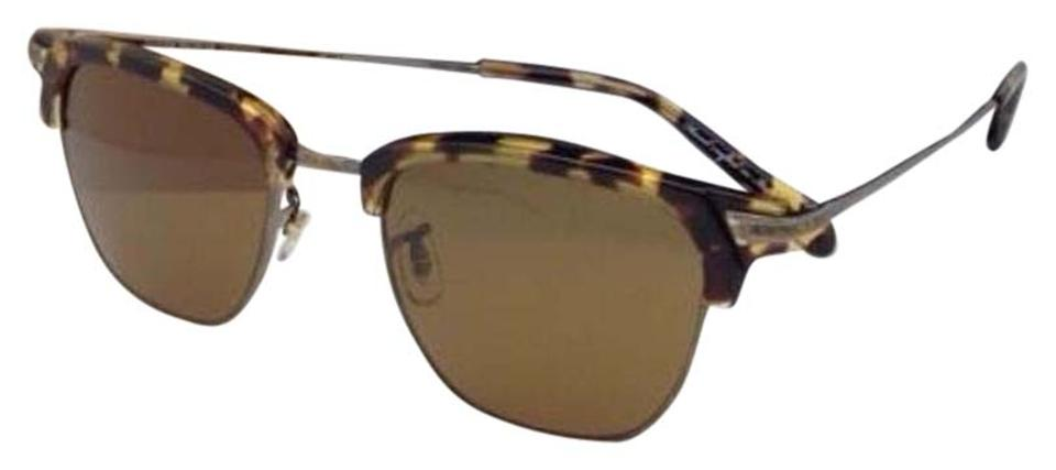 576a896e49a1 Oliver Peoples New OLIVER PEOPLES Sunglasses BANKS OV 1145-S 5039 8B  Tortoise w ...