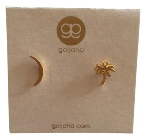 Gorjana Palm/Moon Earring