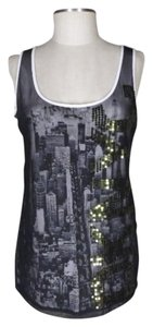DKNY Nyc Sequin Top Black