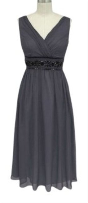 Preload https://item2.tradesy.com/images/gray-goddess-beaded-waist-bridesmaid-sizexl-mid-length-formal-dress-size-16-xl-plus-0x-155066-0-0.jpg?width=400&height=650