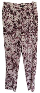 Nanette Lepore Relaxed Pants Pink and Black