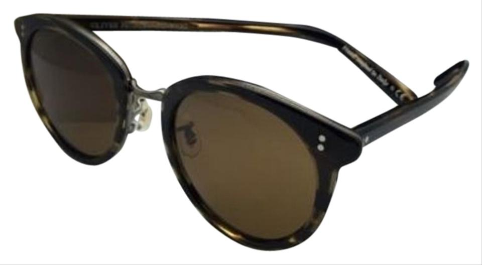 7ca9d91fe2 Oliver Peoples New OLIVER PEOPLES Sunglasses SPELMAN OV 5323S 100353  Cocobolo Frames w  Brown Lenses ...