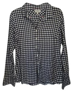 J.Crew Button Down Shirt Navy Blue