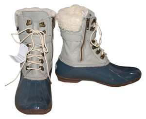Sperry Orchid Grey Ivory Boots