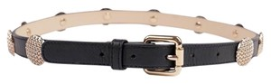 Reiss REISS Black Leather Belt