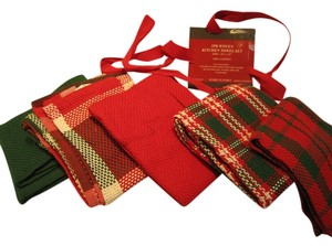 5-Piece Holiday Kitchen Multipurpose Cloth Set - [ Roxanne Anjou Closet ]