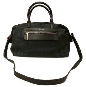 Lanvin Satchel in Forest Green