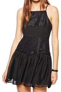 BCBGeneration Bcbg Halter Lace Dress