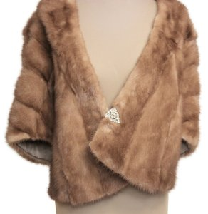 Other Classic Fur Stole Mink Fur Coat